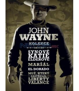 Kolekce John Wayne  (John Wayne: Best of the West Collection) 4 X DVD