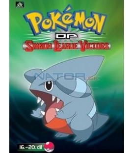 Pokémon (XIII): DP Sinnoh League Victors 16.-20.díl (DVD 4)