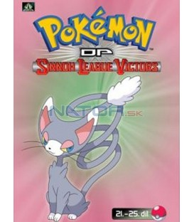 Pokémon (XIII): DP Sinnoh League Victors 21.-25.díl (DVD 5)