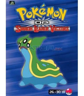 Pokémon (XIII): DP Sinnoh League Victors 26.-30.díl (DVD 6)