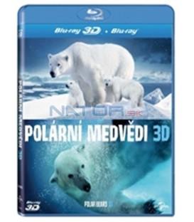 Polární medvědi 3D / Ice Bears: Polar Bears 3D  -Blu-ray obsahuje 2D i 3D verzi