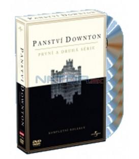 Panství Downton 1 + 2 / Downton Abbey / 2010 – 2011 - 7 DVD, 17 epizod