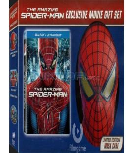 The Amazing Spider-Man 2 D+ 3D - 2012 vychází na Blu-ray v dárkových baleních - s maskou Spidermana