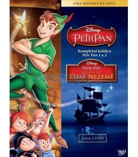 Kolekce Petr Pan 1+2 (2DVD)   (Peter Pan: 1 and 2 Box Set)