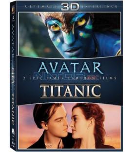 Avatar 3D + Titanic 3D – 6-disková kolekce -  Blu-ray
