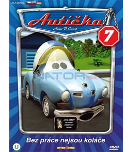 Autíčka 7 (Auto B-Good 7) DVD