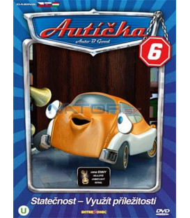 Autíčka 6 (Auto B-Good 6) DVD
