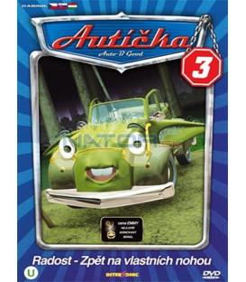 Autíčka 3 (Auto B-Good 3) DVD