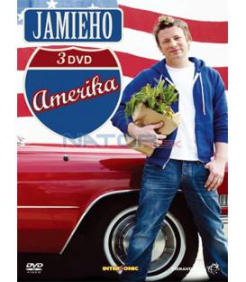 Jamieho Amerika 1-3 digipack /3DVD/   (Jamies American Road Trip)