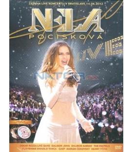Nela Pocisková: LIVE KONCERT DVD + BONUS CD