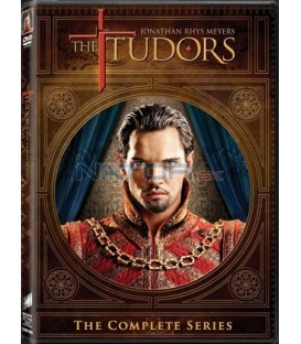 TUDOROVCI 1-4 (Kompletní série 4 DVD) - DVD