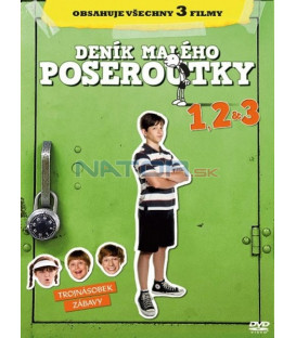 Deník malého poseroutky 1,2,3 DVD