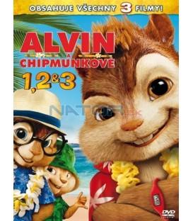 Alvin a Chipmunkovia 1,2,3, - 3 X DVD KOLEKCE