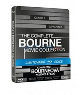 Bourneova KOLEKCE 1-4 STEELBOOK Sběratelská limitovaná edice (Blu-Ray)