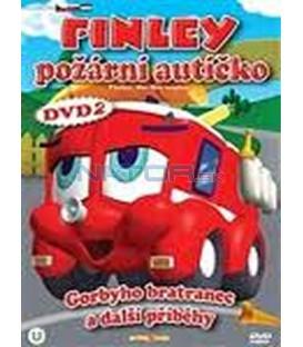 Finley požární autíčko 2 (Finley the Fire Engine) DVD