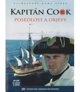 Kapitán Cook 2. - Posedlost a objevy (Captain Cook: Obsession and Discovery) DVD