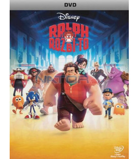 Ralph Rozbi-to / RAUBÍŘ RALF (Wreck-It Ralph) DVD