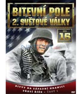 Bitevní pole 2. světové války – 15. DVD – SLIM BOX