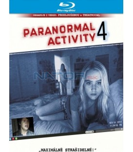 Paranormal Activity 4. (Blu-ray)   (Paranormal Activity 4)