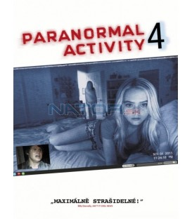 Paranormal Activity 4.   (Paranormal Activity 4) DVD