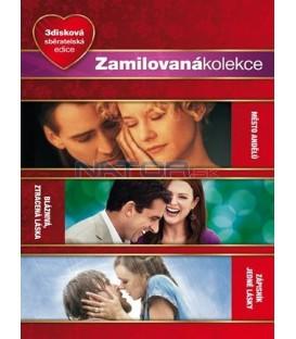 Kolekce: Město andělů + Bláznivá zatracená láska + Zápisník jedné lásky 3DVD