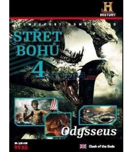 STŘET BOHŮ 4-Odysseus, Odysseus: Pomsta bojovníka (Clash of the Gods: Odysseus: Curse of the Sea, Odysseus: Part II) DVD