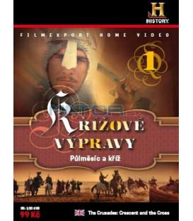 KŘÍŽOVÉ VÝPRAVY 1 - Půlměsíc a kříž (The Crusades: Crescent and the Cross – Ep.1.,2.) DVD