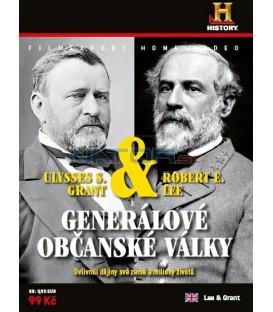 Generálové občanské války R.E.Lee & U.S.Grant (Lee & Grant) DVD