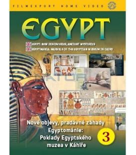 Egypt 3: Nové objevy, pradávné záhady (Egypt: New Discoveries, Ancient Mysteries) DVD