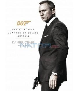 Daniel Craig JAMES BOND kolekce (3 X DVD: Casino Royale, Quantum of Solace, Skyfall) DVD