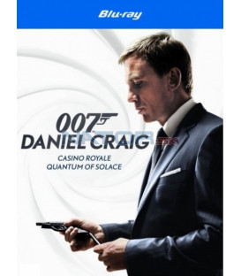 Daniel Craig James Bond kolekce (3 X Blu-ray: Casino Royale, Quantum of Solace, Skyfall) - Blu-ray