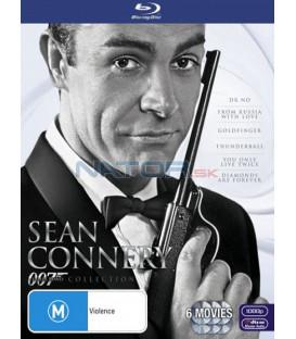 Sean Connery James Bond kolekce 6 X Blu-ray (James Bond-Sean Connery box set)