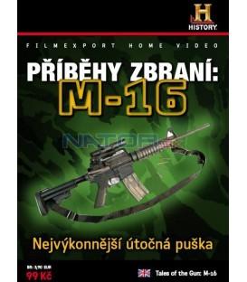 PŘÍBĚHY ZBRANÍ: M-16 DVD