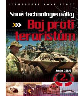 Nové technologie války 2. - boj proti teroristům DVD
