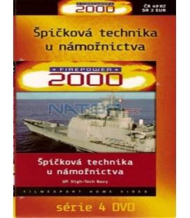 FIREPOWER 3 - Špičková technika u námořnictva (High-Tech Navy) DVD