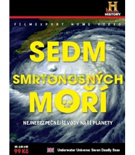SEDM SMRTONOSNÝCH MOŘÍ (Underwater Universe: Seven Deadly Seas) DVD