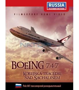 Boeing 747: Korejská tragédie nad Sachalinem (Рейс 007:пассажирский разведывательный) DVD