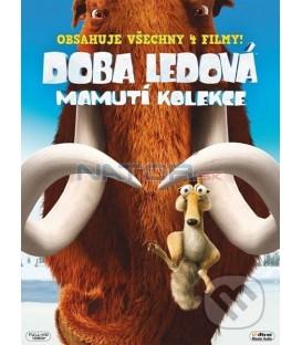 Doba ledová 1,2,3,4 - Mamutí kolekce SK/CZ dabing DVD
