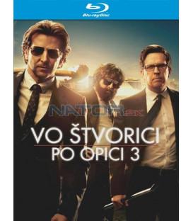 Vo štvorici po opici 3 / Pařba na třetí (The Hangover Part III) - Blu-ray