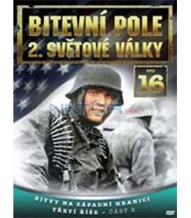 Bitevní pole 2. světové války – 16. DVD – SLIM BOX