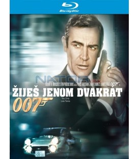James Bond - Žiješ jenom dvakrát (You Only Live Twice) Blu-ray