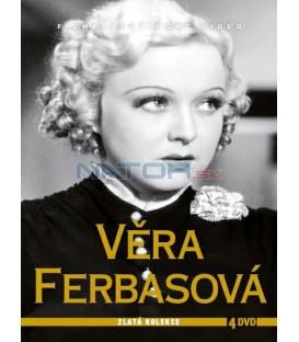 Věra Ferbasová - Zlatá kolekce 4 DVD