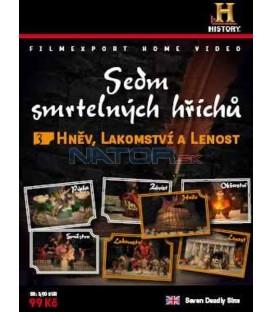 Sedm smrtelných hříchů 3 - Hněv, Lakomství, Lenost DVD