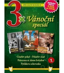 3x Vánoč.speciál 1 - Císařův pekař-Pekařův císař/Princezna se zlatou hvězdou/Pytlákova schovanka DVD