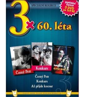 3x 60. léta - Černý Petr / Konkurs / Až přijde kocour DVD