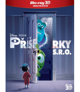 Příšerky s.r.o.  (Monsters Inc.) 2Blu-ray 3D+2D