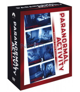 Paranormal Activity kolekce 1-4 4DVD (Paranormal Activity: Four Movie Collection)