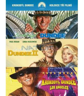Krokodýl Dundee kolekce 1-3 3DVD (Crocodile Dundee Boxset 3DVD)