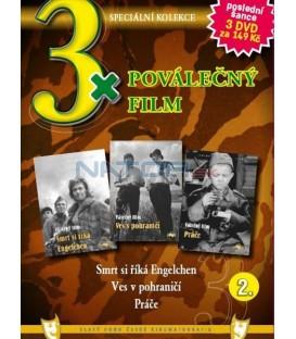 3x Válečný film II. - Smrt si říká Engelchen / Ves v pohraničí / Práče DVD