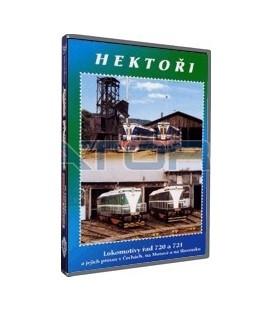 Historie železnic - HEKTOŘI DVD